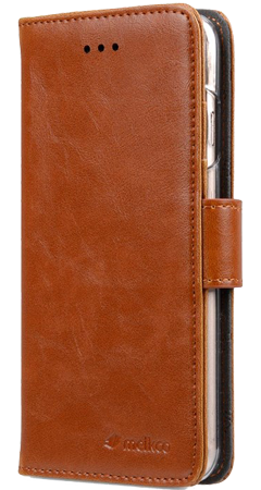 Walletcase Book Extra Cardslots iPhone 7/8 Brown