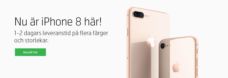 Köp iPhone 8 och iPhone 8 Plus