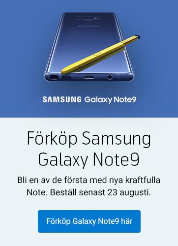 Förköp Samsung Galaxy Note9
