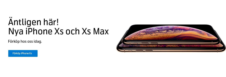 Förköp iPhone Xs