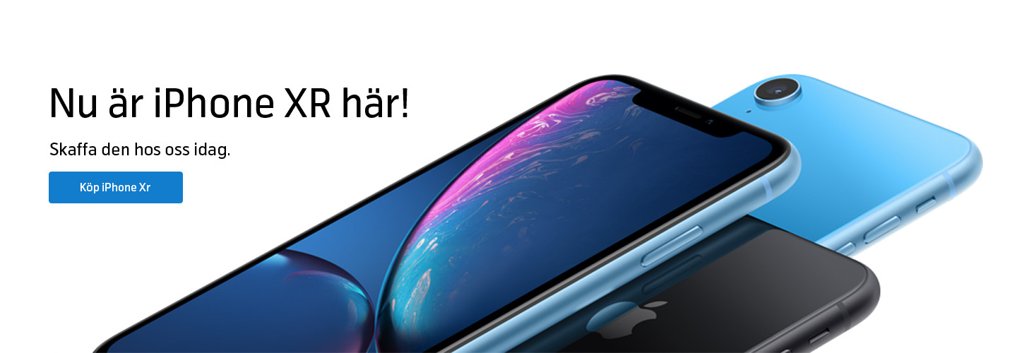 Förköp iPhone XR